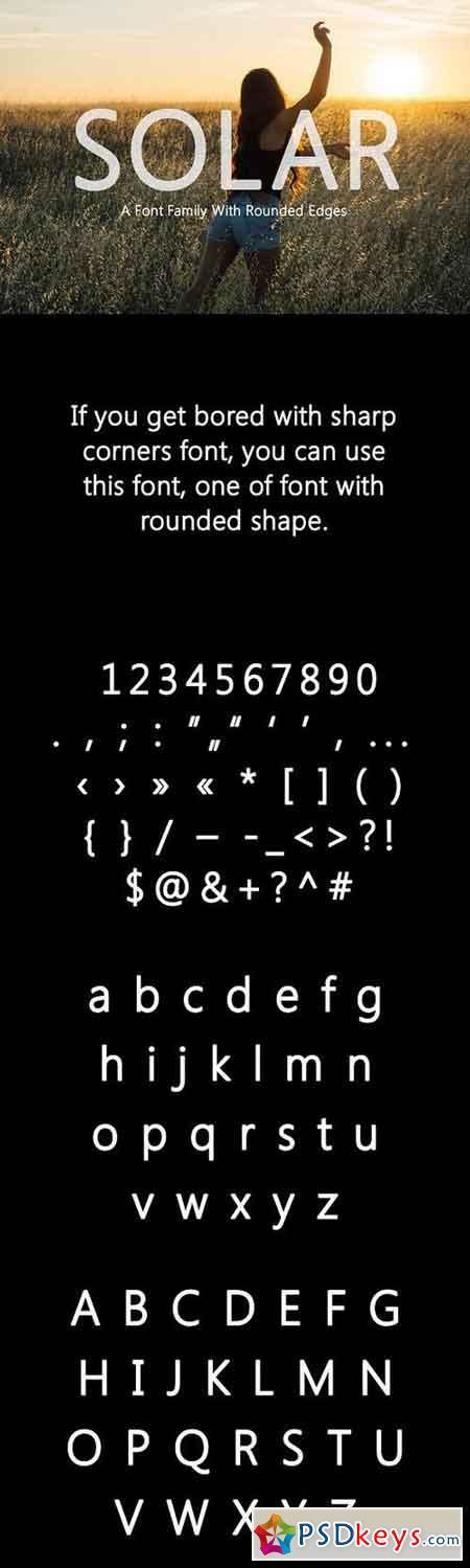 Solar Font 1183793