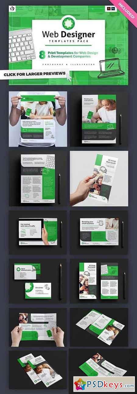 Web Designer Templates Pack 1194166