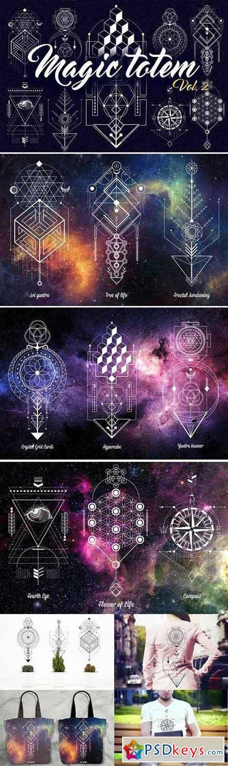 Sacred Geometry. Magic totem vol.2 625279