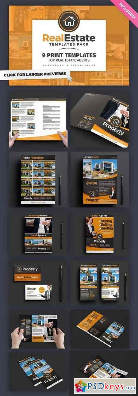 Real Estate Brochure Template Pack 772468