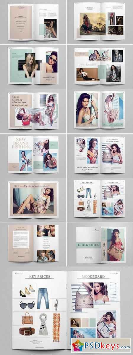LookBook Magazine Template 1196563