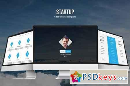 Startup Responsive Muse Template 532997 » Free Download