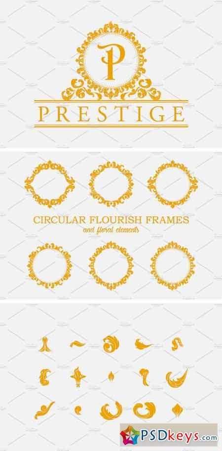 Circular Flourish Frames 1340404
