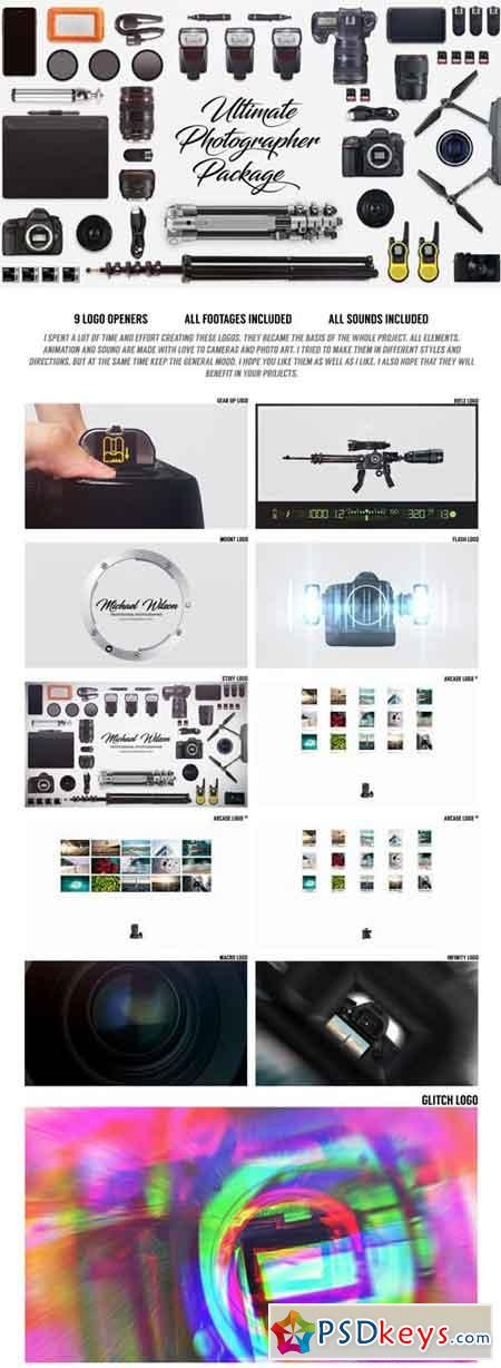 Ultimate Photographer Package 19714376 - After Effects Projects