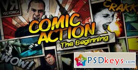 Comic Action - The Beginning 4098573 - After Effects Projects