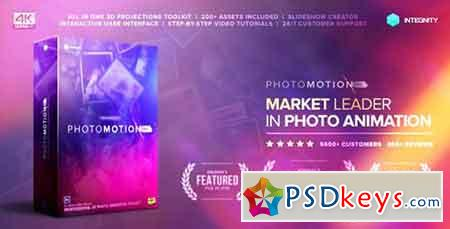 Photo Motion Pro - Professional 3D Photo Animator 13922688 (with 3 February 17 Update) - After Effects Projects