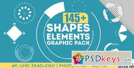 Shapes & Elements Graphic Pack 15357895 - After Effects