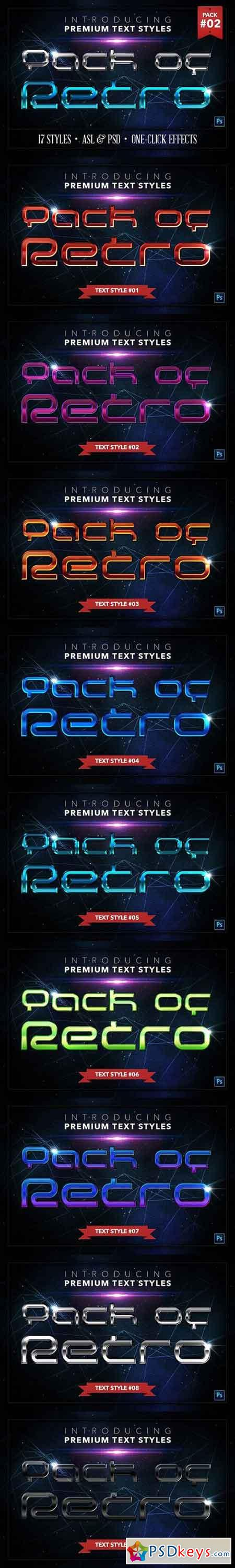 Retro #2 - 17 Text Styles 1326768