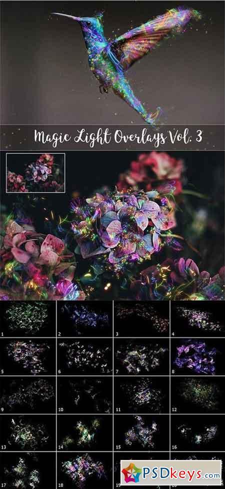 4K Magic Light Overlays Vol. 3 1396323