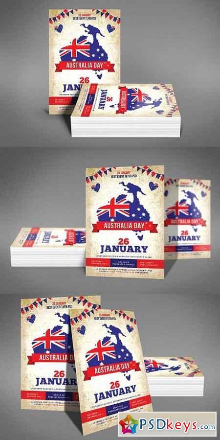 Australia Day Party Flyer 1196386