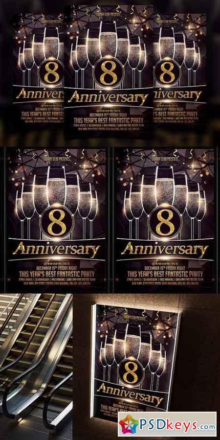 Anniversary flyer 1196953