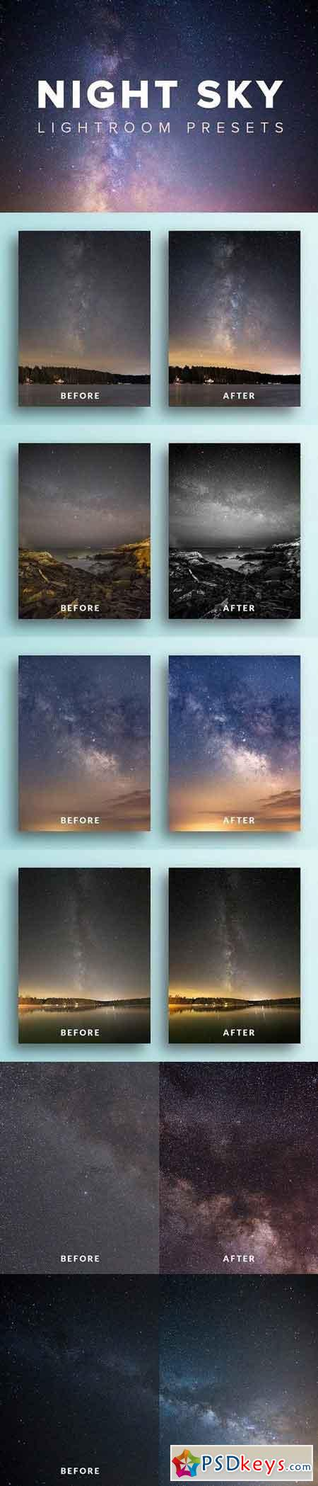 Night Sky Lightroom Presets 1196311