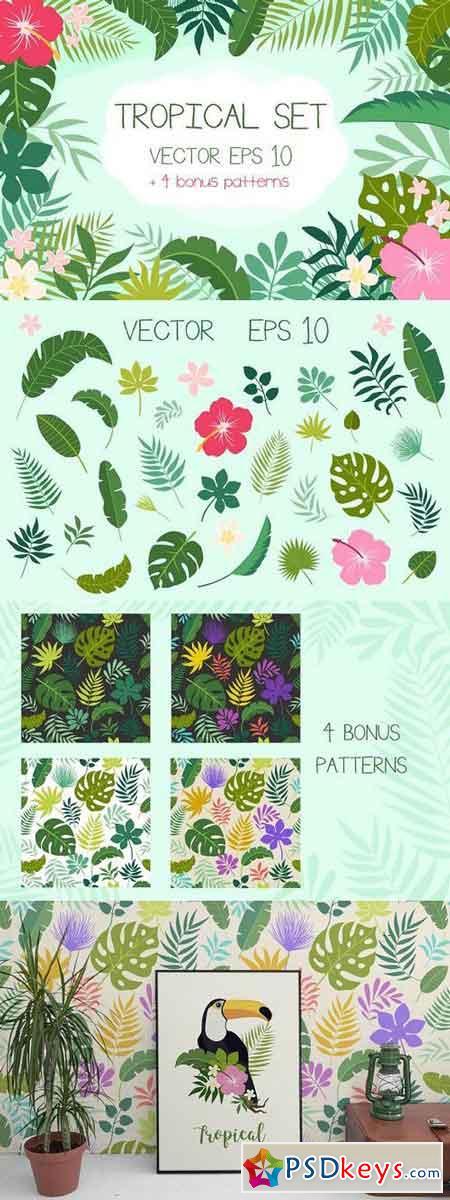 Tropical Set + Bonus Patterns 1176547