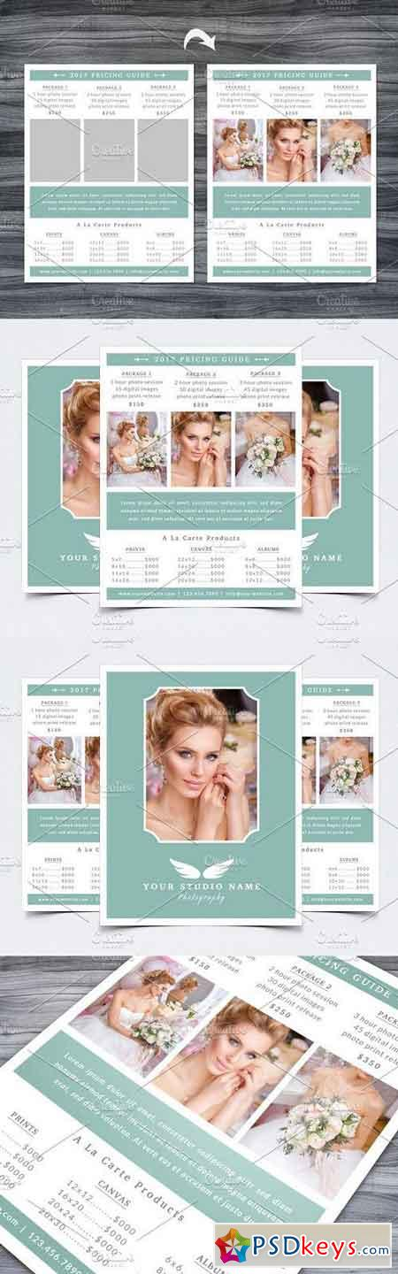 Photography Pricing Guide Template 1196414
