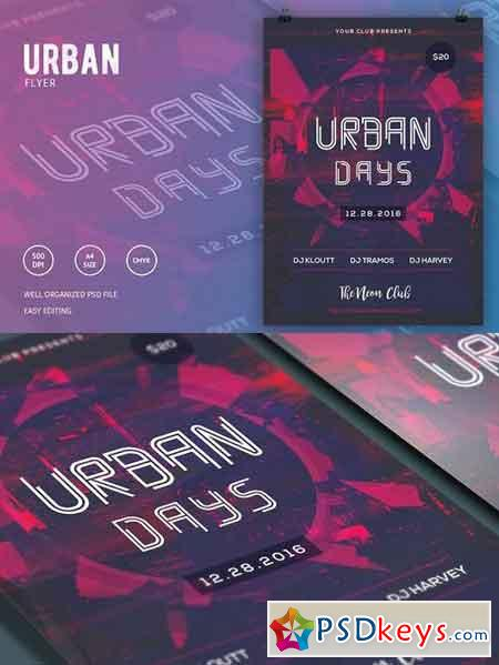 Urban Days Party Flyer 1174777