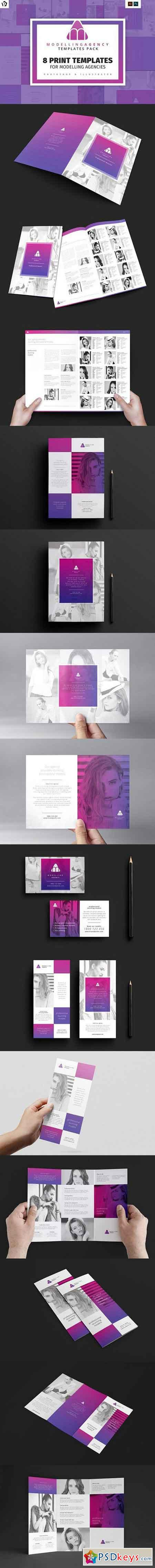 Modelling Agency Templates Pack 1374066
