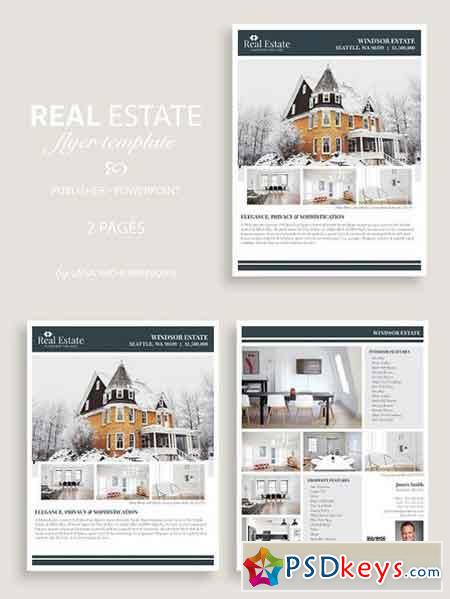 Real Estate Flyer Template No.9 1382188