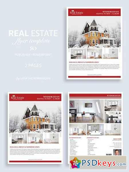 Real Estate Flyer Template No.10 1382183