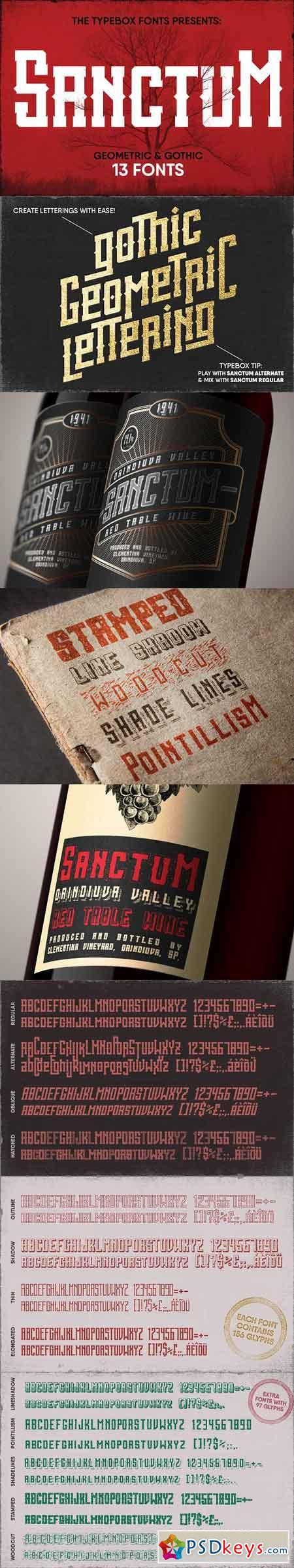 Sanctum Font Pack 1322953