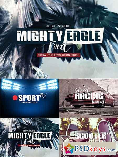 Mighty Eagle + Revolution Brush 1325063