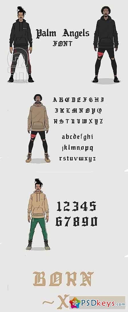 Palm Angels Font 1315512
