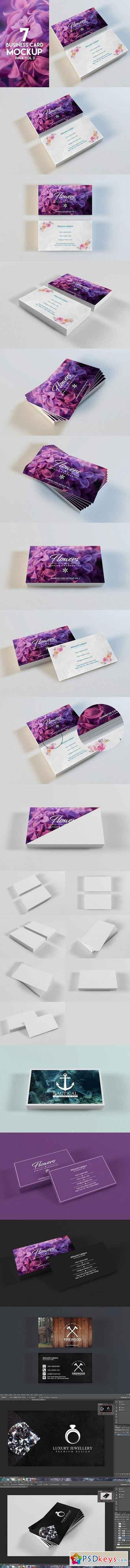 Business Card Mockup Vol 2 844146