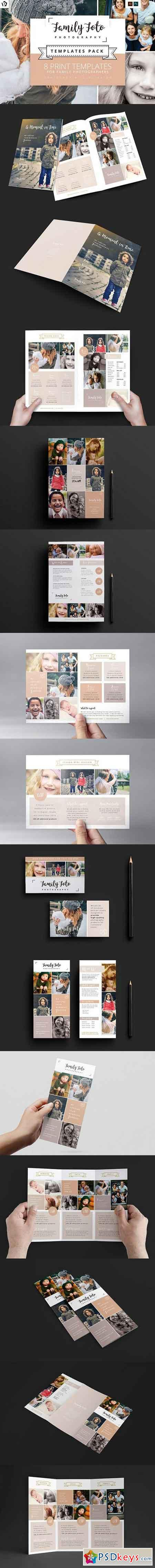 Family Photographer Templates Pack 1378832