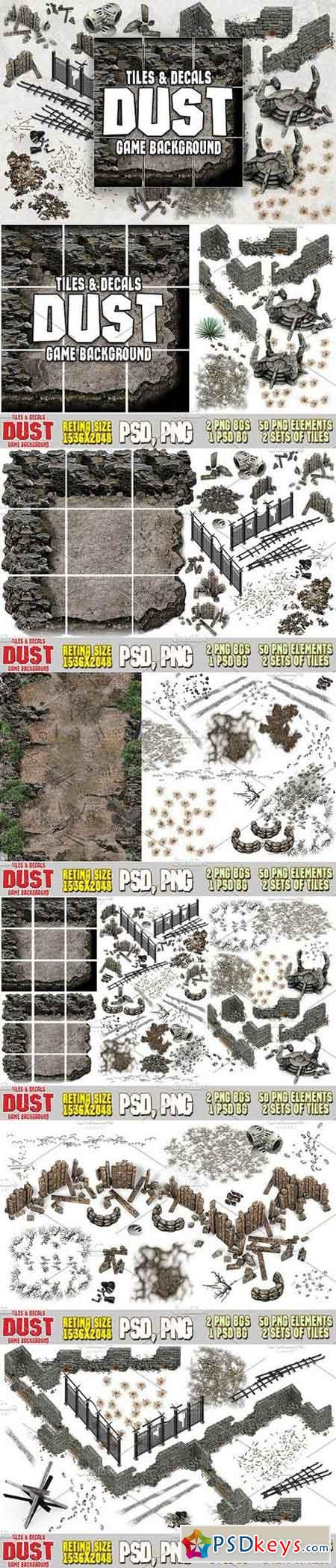 DUST 2D MAP TILES AND DECALS 1371923