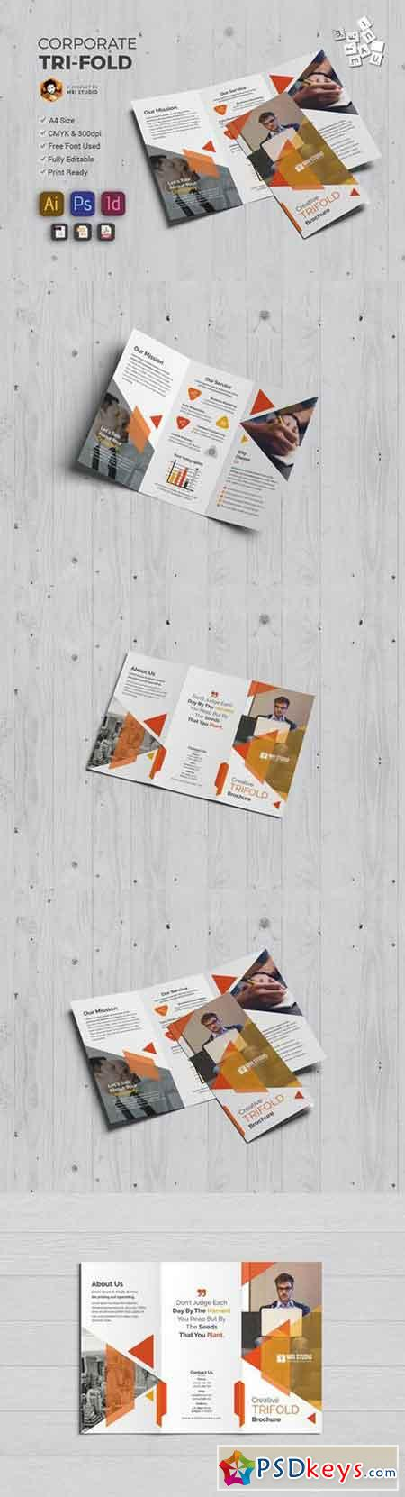 Creative Tri-Fold 1396735