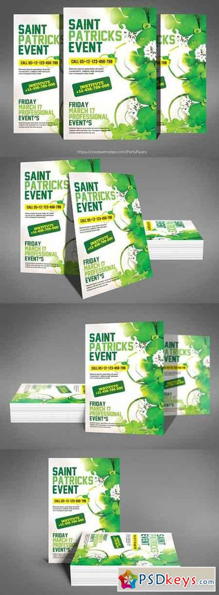 Saint Patricks Day Party Flyer 1328535