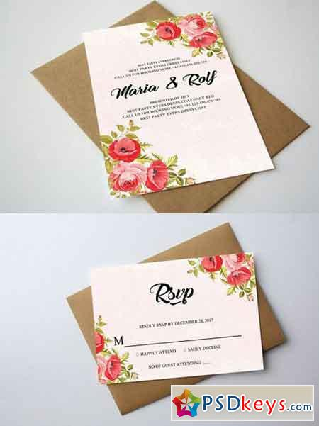 Wedding Invitation 1328468