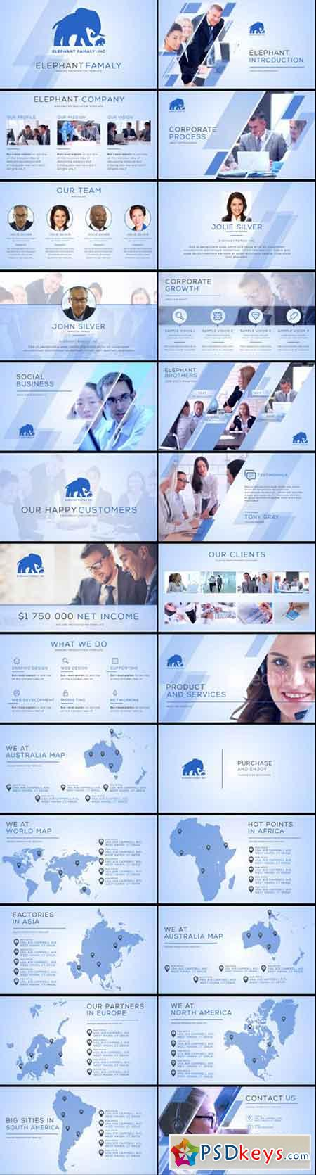 Clean Business Company Profile 14534439 - After Effects Projects