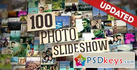 100 Photo Slide Show 16985451 (UPTADE 20 May 16) - After Effects Projects