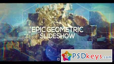 Epic Geometric Slideshow 19695558 - After Effects Projects