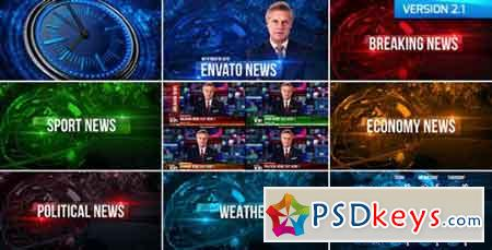 Broadcast Design News Package 19550533 - After Effects Projects
