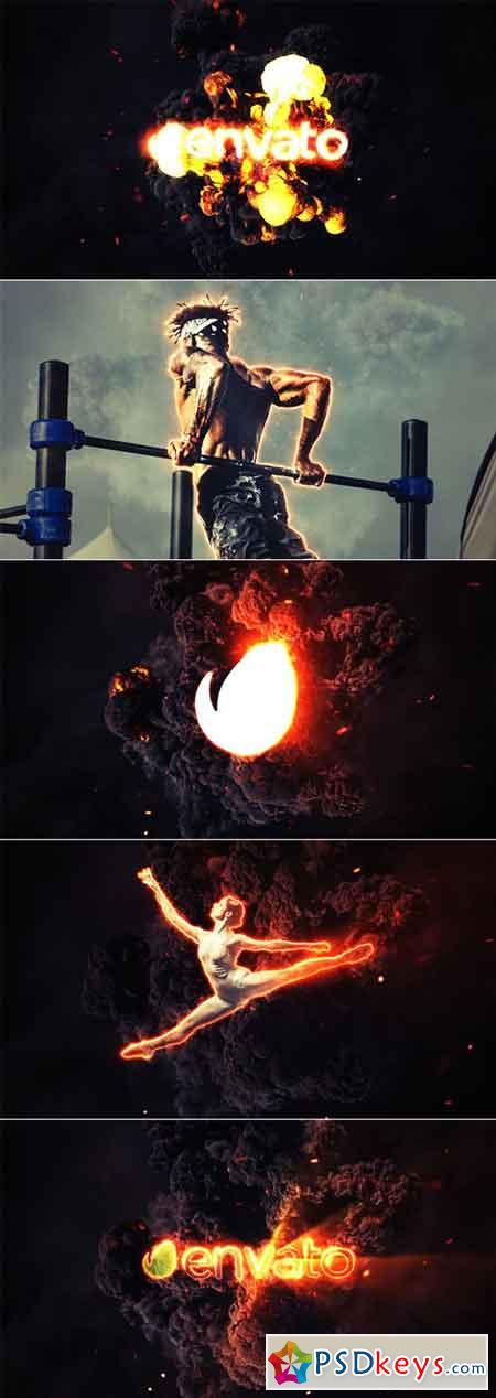Fire Explosion Logo & Photo Animation 19660498 - After Effects