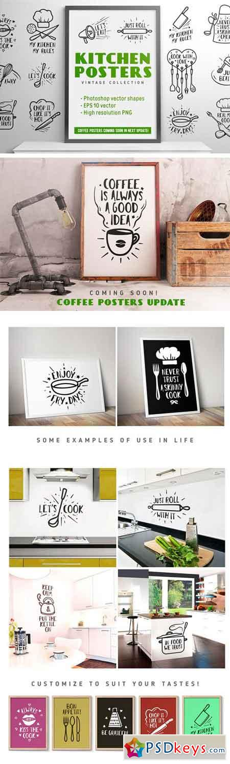 Kitchen Posters Collection 1370959