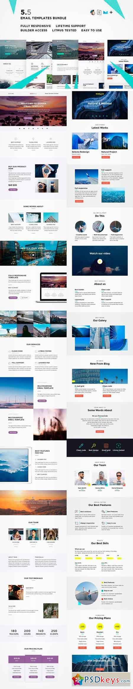 email templates bundle v 1380165