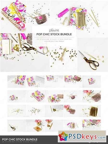 Pop Chic Styled Stock Bundle HM 1373059