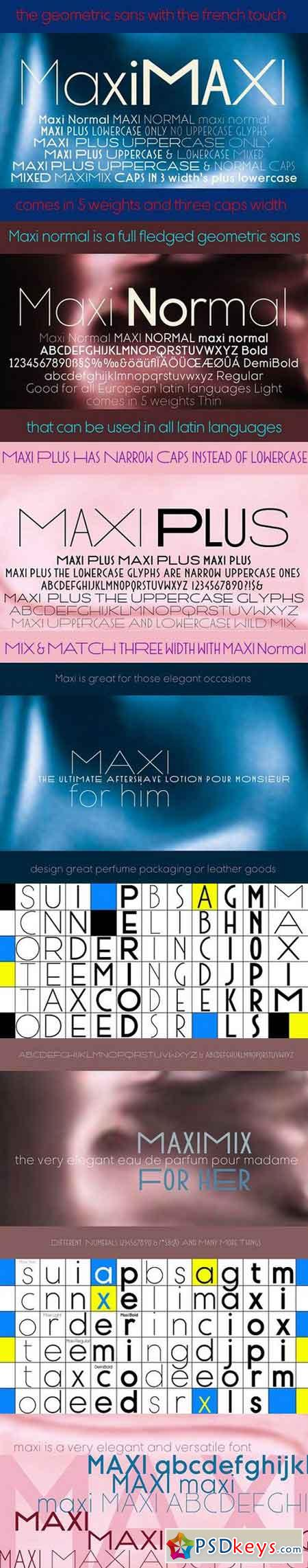 Maxi fonts 1397808 » Free Download Photoshop Vector Stock