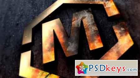 Metal Fire Logo or Text - After Effects Projects