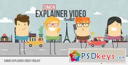 Simon Explainer Video Toolkit 8954003 - After Effects Projects