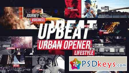 Upbeat Dynamic Urban Opener 17462758 - After Effects Projects