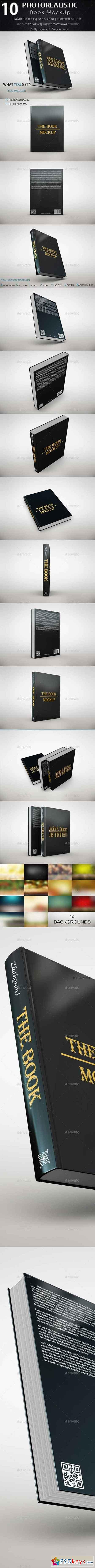 The Book MockUp 18787414