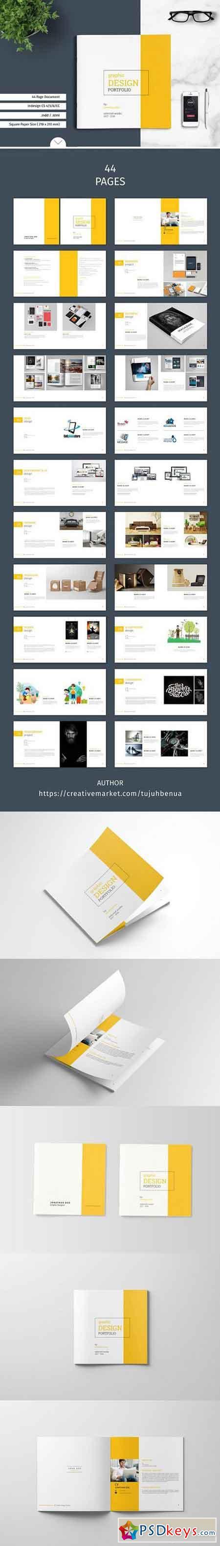 graphic design portfolio template 1398714  u00bb free download