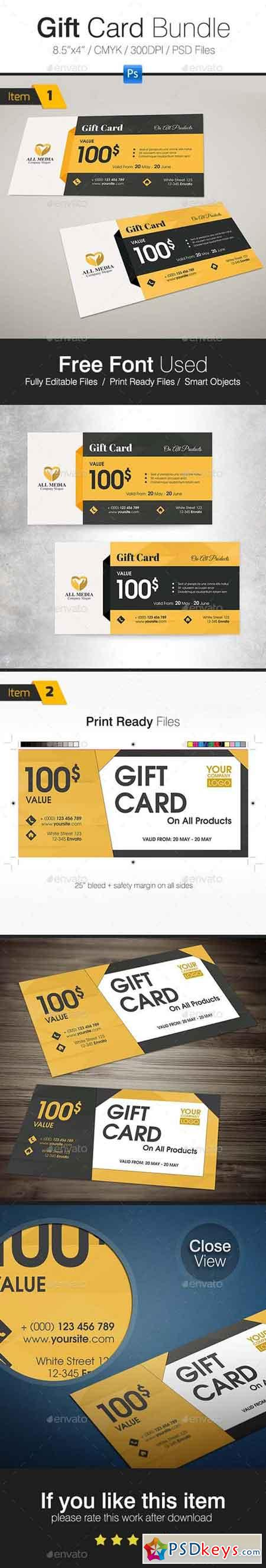 Gift Card Bundle 19887588