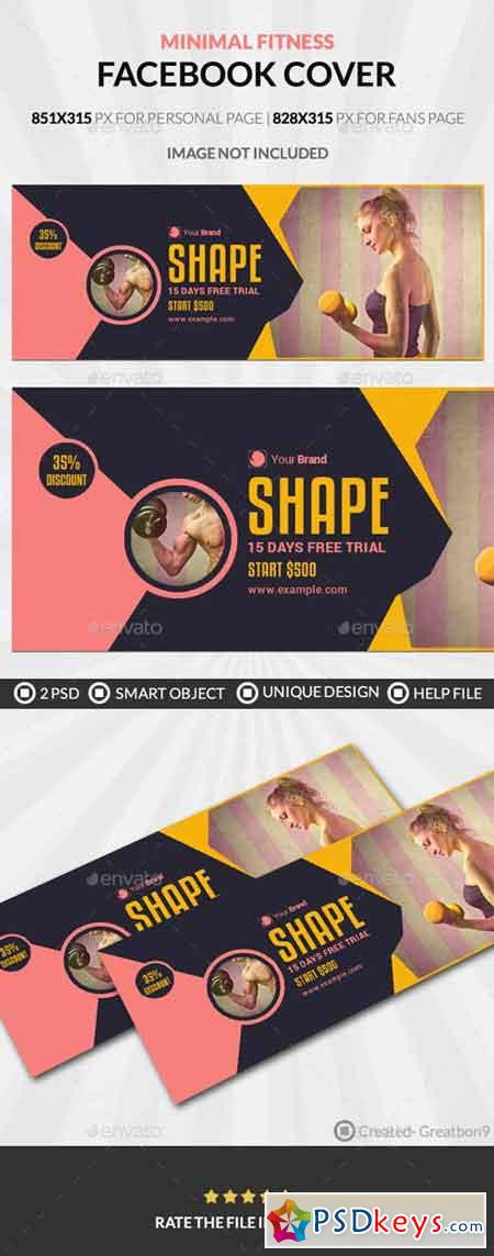 Fitness Facebook Cover 19886522