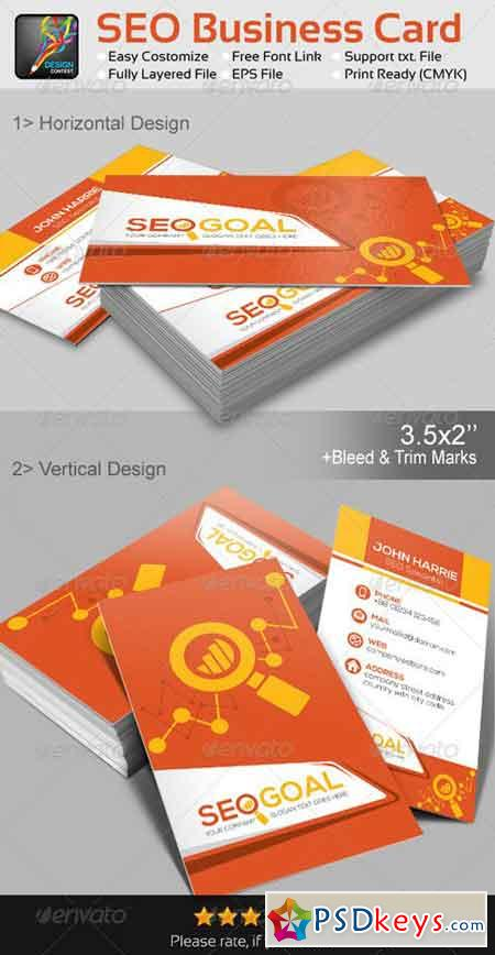 Search Engine Optimization Business Cards 6567455