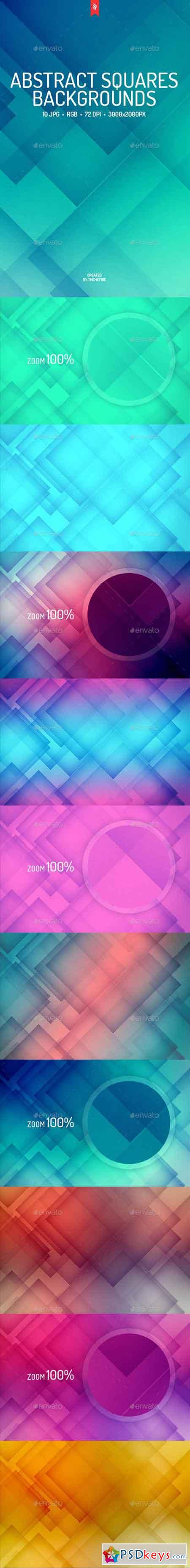 Abstract Squares Backgrounds 18647105