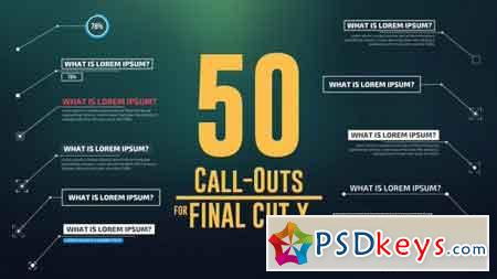 50 Call-Outs Pack 14531447 - After Effects Projects